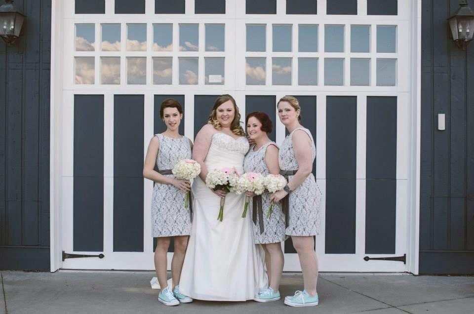 Bridesmaid gowns Langley